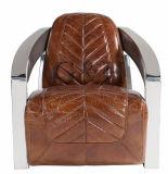고대 작풍 상한 거실 소파 의자 또는 여가 의자
