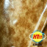 Couro artificial de PVC para móveis (1606 #)