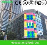 Visualizzazione di LED esterna per fare pubblicità