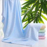 Горячие продавая полотенца ванны сплошного цвета обыкновенные толком сотка Bamboo для ванны