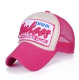 方法パッチの刺繍の綿のデニムの網の野球帽(YKY3424)