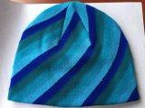 높은 뜨개질을 하는 속도를 가진 주문을 받아서 만들어진 모자 모자 기계