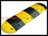Gw8001 Badén de caucho amarillo y negro producto de la seguridad vial