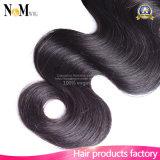 等級6Aのブラジルの人間の毛髪の拡張100%人間の毛髪(QB-BVRH-BW)