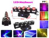 5head 독립적인 포켓 LED 이동하는 맨 위 광속 빛