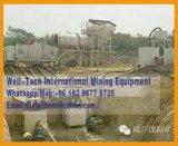 Tela Rotativa de móveis Trommel planta de lavagem do minério de ouro