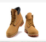 Ботинки пустыни лодыжки кожаный Anti-Abrasion Breathable Insole замши водоустойчивые дешевые