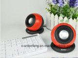 Un mini altoparlante professionale dei 2.0 Portable più poco costoso per i calcolatori ed i computer portatili, altoparlante minimo rotondo