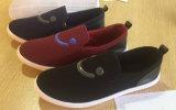 Самый последний комфорт ботинок холстины людей впрыски конструкции обувает ботинки Slip-on