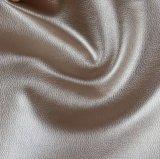 ソファーファブリック(806#)のための安く標準的なLitchiの穀物PVCレザー