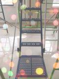 Los andamios escaleras con pasamanos