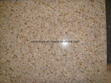 Mattonelle Polished del rivestimento del pavimento e della parete del granito beige