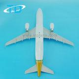 ABS van luchtbus A320 het Gouden 37cm Plastic Model van de Lucht van de Desktop