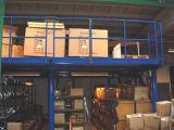 Plataforma para o sistema do racking do armazém