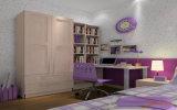 Última cama doble de madera Diseños Litera Mobiliario de dormitorio para niños (ET-008)