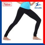 Healong Diseño personalizado de impresión por sublimación de ropa deportiva mujer pantalones