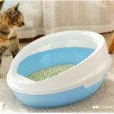 Bacino di plastica della toletta del gatto di modo del bacino del gatto