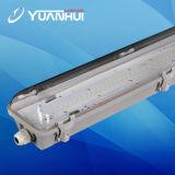 6000k CRI 80, lâmpada do diodo emissor de luz Vaporproof do diodo emissor de luz IP66 de 4ft