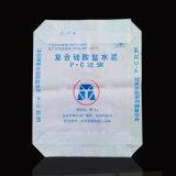 Sacchetto tessuto pp laminato per alimentazione, fertilizzanti, cemento, alimento