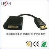 Displayport Adapter-Kabel, Displayport Mann zum DVI Weibchen