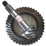 BS6097 9/41 나선형 기어 트럭 후방 드라이브 차축은 Metel 주문을 받아서 만들어진 나선형 비스듬한 기어일 수 있다