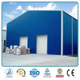 Construction en acier préfabriquée d'entrepôt de structure de bâti de l'espace de grande envergure