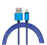 Ligne de boîte de vitesses colorée du portable USB/câble de remplissage de ligne/caractéristiques