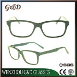 Óculos de acetato de grossista popular espectáculo óptica Óculos Frame