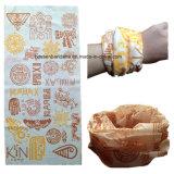 Prodotti dell'OEM un Bandanna giallo cuoio multifunzionale del poliestere riflettente delle bande tinto colore