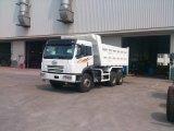 FAW 6X4 10 바퀴 320HP 팁 주는 사람 트럭 덤프 트럭