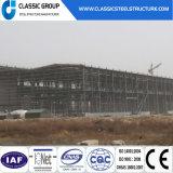 Almacén/taller ignifugados de la estructura del marco de acero del panel del tiempo de servicio largo