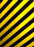 危険の警告テープ(10CM)