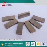 350mm segmentos do diamante do Sandstone de 4 polegadas