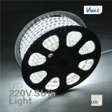 Super brillante 220V luz de tira del LED ( 220V- 3528-60 IP44 blanco)