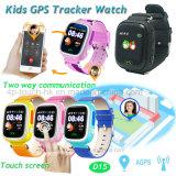 2g Sos D15를 가진 GPS 추적자 시계가 다채로운 접촉 스크린에 의하여 농담을 한다