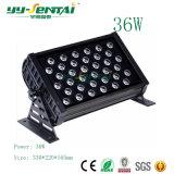 Proyector LED de alta potencia de iluminación exterior LED multicolor resistente al agua 36W/48W