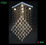 Gocce di cristallo di illuminazione, illuminazione di cristallo dell'hotel