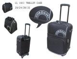 De Zak van de bagage van pvc met de Wielen van de Spinner (TLB110 die) wordt gemaakt