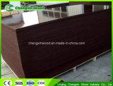 WBP impermeabilizan la madera contrachapada concreta hecha frente película del encofrado de la madera contrachapada para la construcción