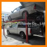 Elevación residencial 4 del coche del taller de reparaciones del OEM de la elevación del estacionamiento de 2 coches tipo elevación de cuatro postes del taller de reparaciones de la elevación del coche