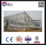 박공 프레임 Prefabricated 산업 강철 구조물 창고 (ZY358)