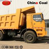鉱山HOWO頑丈なダンプトラック70トンの
