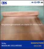 中国の工場赤い銅線の網