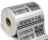 Etiquetas de prata da marca registrada do produto da impressão do PVC (GB-029)