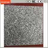 3-19mm bereiften UV-Beständiger der Silkscreen-Druck/saure Ätzung/,/Muster-Ebene/verbogen ausgeglichenes/Hartglas für LED-Licht, im Freienmöbel u. Dekoration mit SGCC/Ce