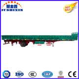 輸送容器のための1つの車軸閉鎖側面または低下の側面か塀または側板またはサイドウォールまたは半サイドボードのトレーラー