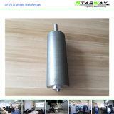 Kundenspezifischer Metallpräzision CNC, der mit Welle CNC-Drehbank-Teilen maschinell bearbeitet