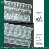 고품질 내화성이 있는 석고 고약 섬유유리에 의하여 강화되는 크라운 조형 처마 장식
