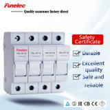 Support cylindrique de fusible à C.A. de Fnl-Rt18 (10*38) 32A 63A 500V