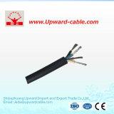 Hochspannungs-Belüftung-Hüllen-elektrisches kabel für Gebäude